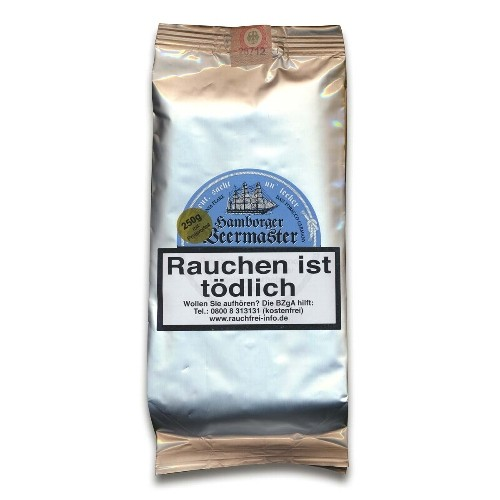 Hamburger Pfeifentabak Hamborger Veermaster Flake 250 Gramm