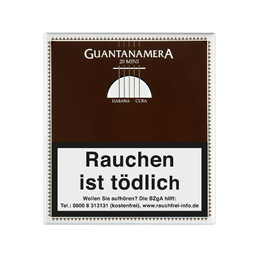 Guantanamera Mini 20 Zigarillos