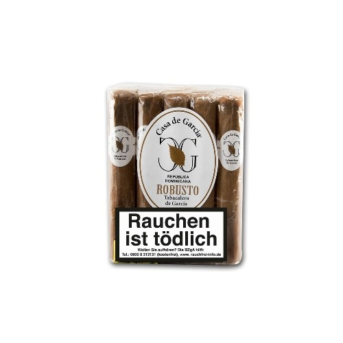 Casa de Garcia Connecticut Robusto Bundle 10 Zigarren
