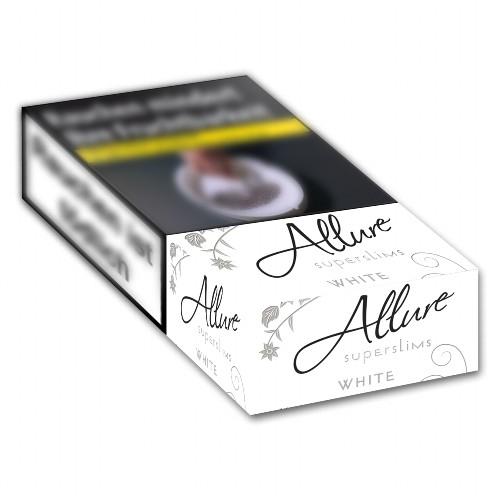 Allure White Zigaretten Super Slims 100 (10x40)
