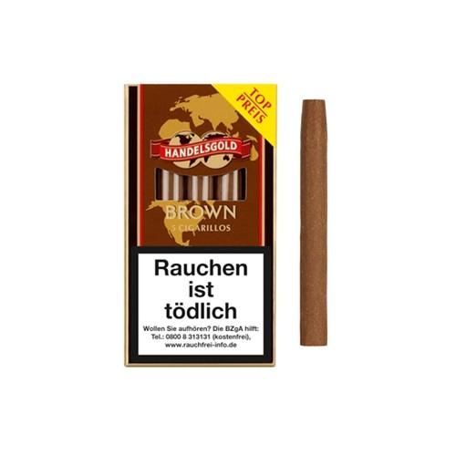 Handelsgold Brown 5 Zigarillos
