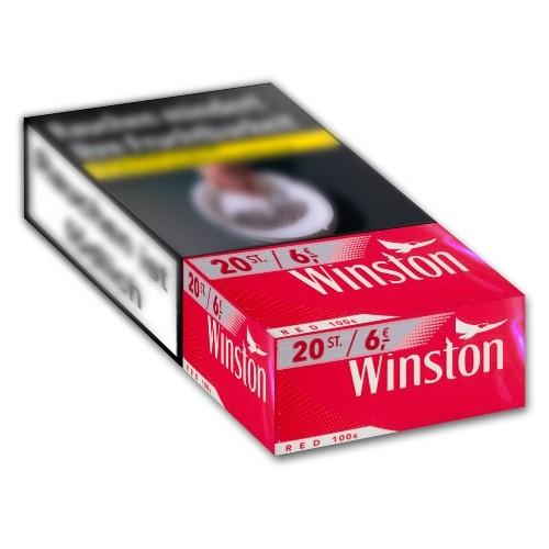 Winston Zigaretten Red 100's 6,00 Euro (10x20)