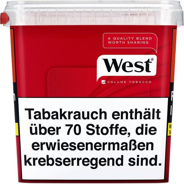 West Zigarettentabak Red Volume Tobacco 280 Gramm