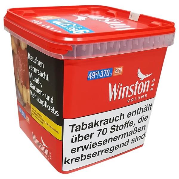 Winston Classic Volumen Zigarettentabak im Giant Eimer