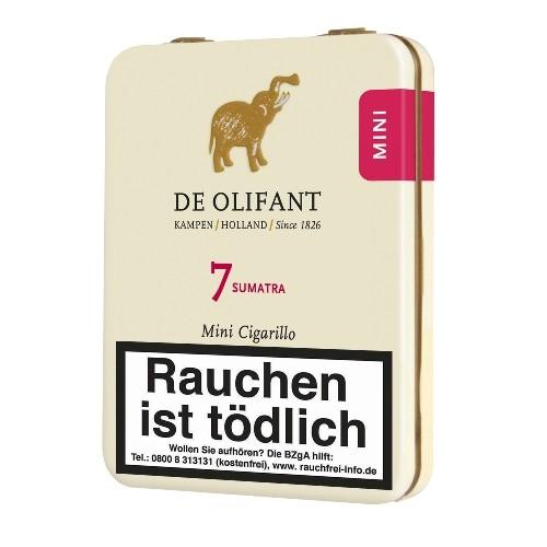 De Olifant Mini Sumatra 7 Zigarillos