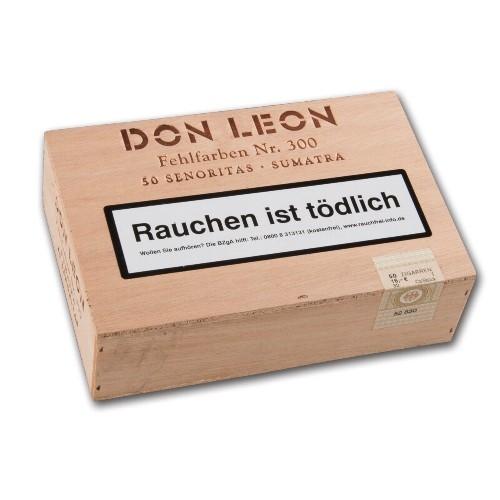 Don Leon Senoritas Fehlfarben Nr.300 Sumatra 50 Zigarillos