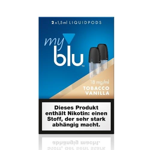 myblu Vanilla 2 x LIQUIDPOD 18 mg Nikotin