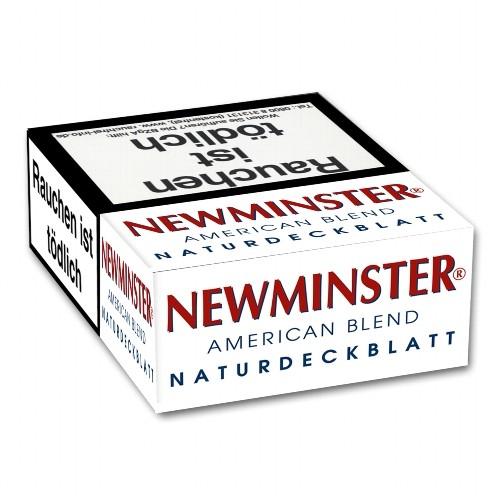 Newminster American Blend Naturdeckblatt 23 Filterzigarillos