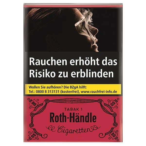 ROTH-HÄNDLE Zigaretten ohne Filter (10x20)