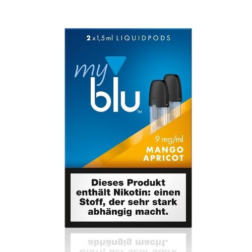 myblu Mango Apricot 2 x LIQUIDPOD mit 9 mg Nikotin