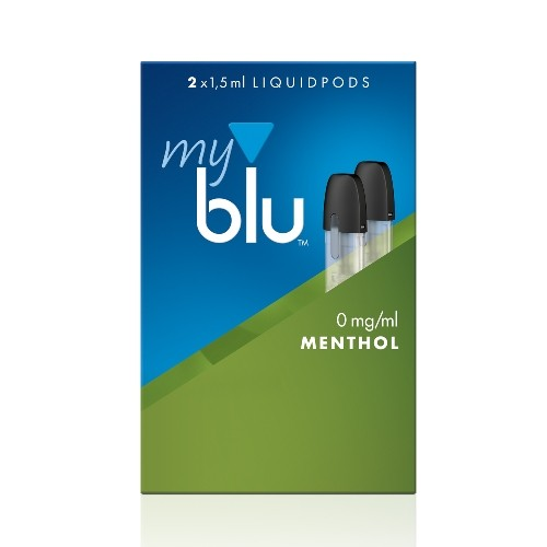 myblu Menthol 2 x LIQUIDPOD ohne Nikotin