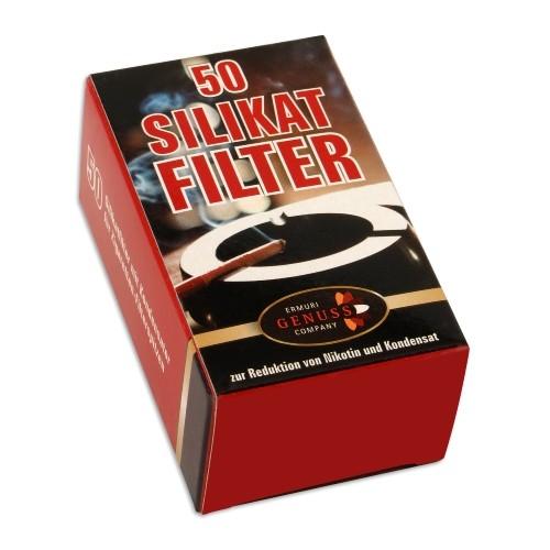 Silikatfilter Ermuri für Zigarettenspitzen Packung à 50 Stück