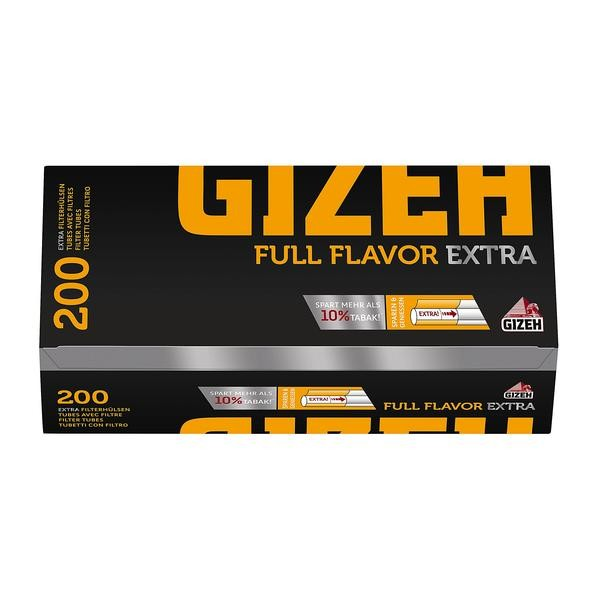 Zigarettenhülsen Gizeh Full Flavor Extra 1.000 Stück