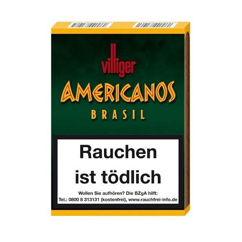 Villiger Americanos Brasil 5 Zigarillos