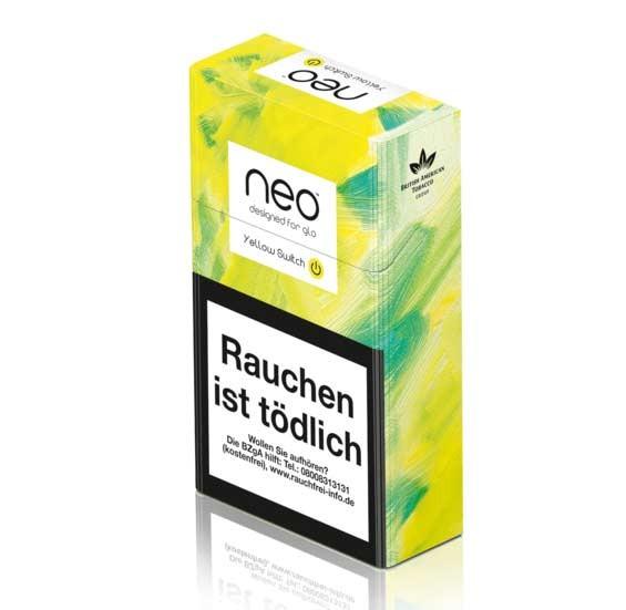 neo Yellow Switch 20 Tabaksticks