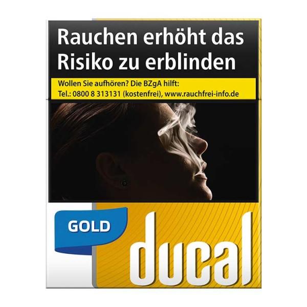 Ducal Zigaretten Gold Big Pack (8x22)