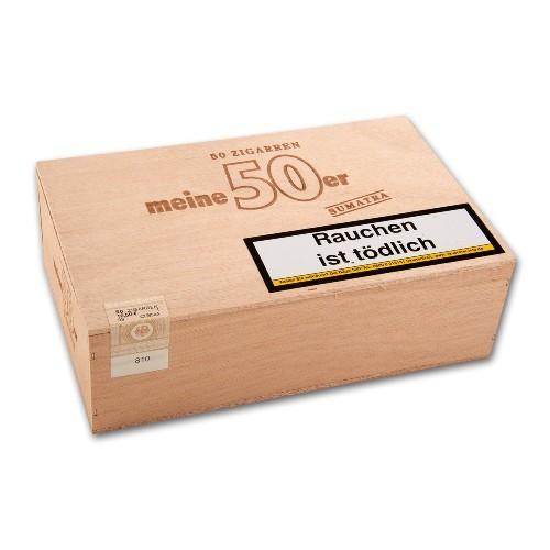 Meine 50er Sumatra 50 Zigarren